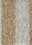 Riviera Maison Plantation Rattan Stripe Wallpaper 18310 By Galerie